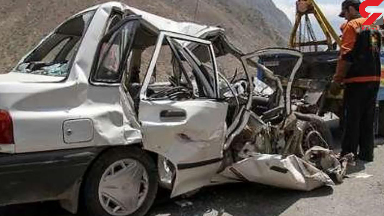 12 مصدوم در حادثه رانندگی فیروزآباد