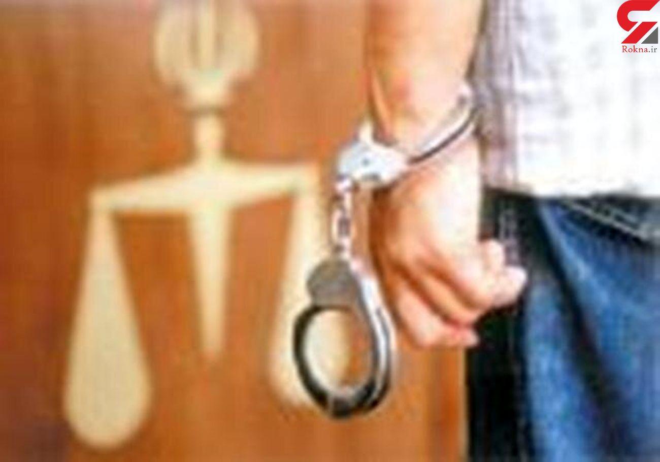 دستگیری سارق محتویات داخل خودرو با ۲۲ فقره سرقت