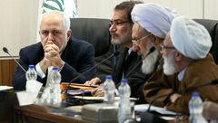 جواد ظریف به جلسه مجمع تشخیص مصلحت نظام رفت +عکس