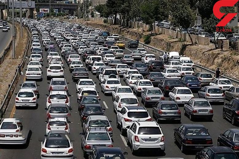 آخرین وضعیت جوی و ترافیکی جادههای کشور در 8 فروردین ماه