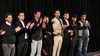 جشن تولد بازیگر مرد در افتتاحیه یک فیلم سینمایی + عکس