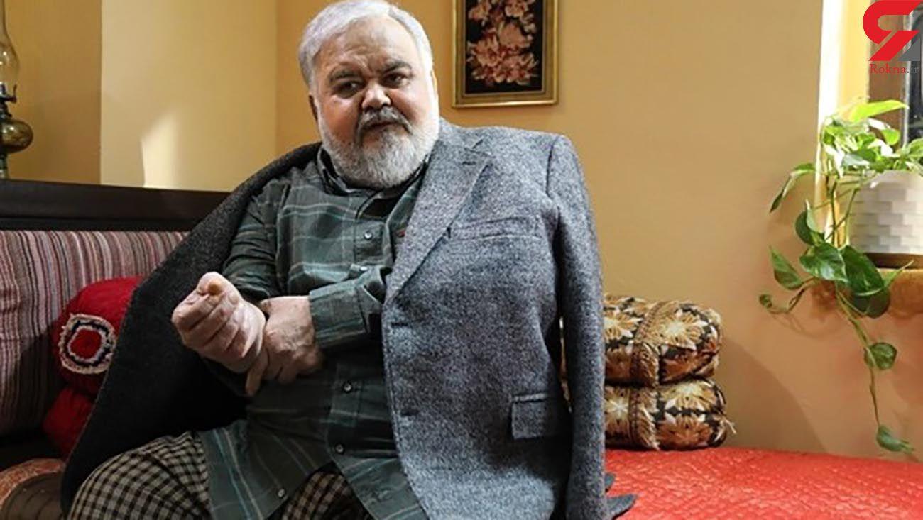 فیلم آخرین وضعیت بیماری اکبر عبدی