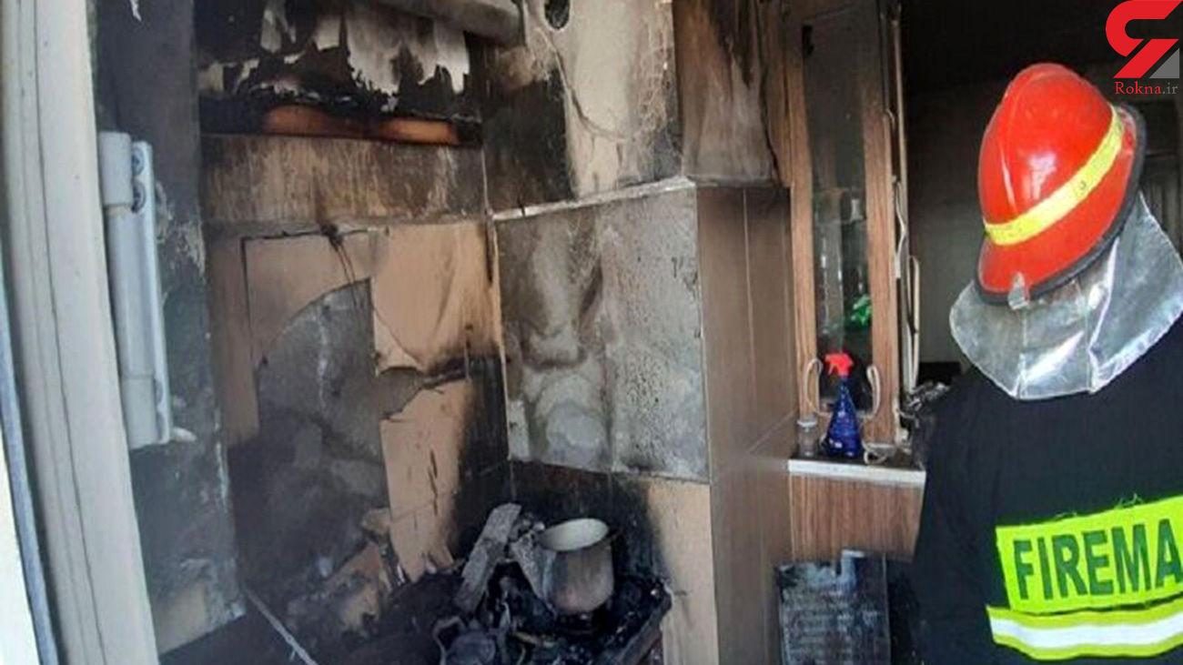 حادثه تلخ برای 3 آتش نشان در اشتهارد