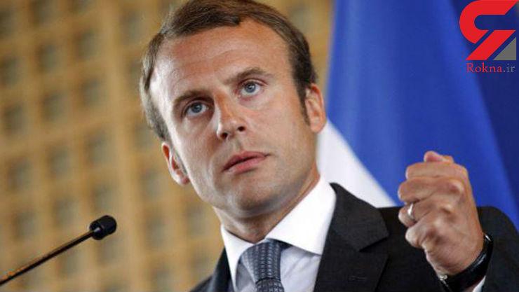 تماس رییس جمهور فرانسه با روحانی