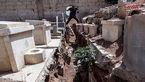 کشف تونلهای متعلق به تروریستها درجنوب دمشق +تصاویر