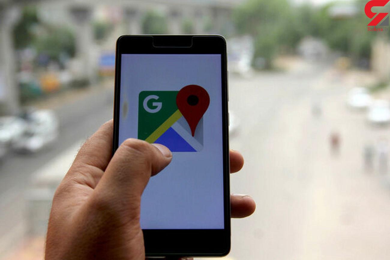 آگاهی مردم هند از حرکت وسایل نقلیه عمومی در گوگل مپ
