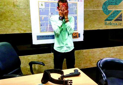 گفتوگو با مامور پلیسی که اسلحه را به سمت مسافران مترو تهران گرفت+عکس