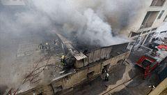 جزئیات آتشسوزی در یک انبار لولههای پلیاتیلن در کرج
