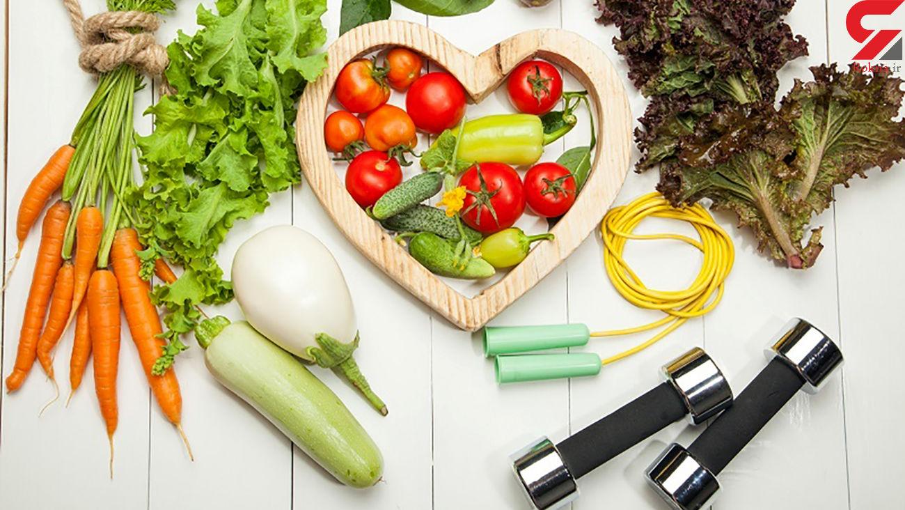 خوراکی های بازکننده رگهای قلب + اینفوگرافی