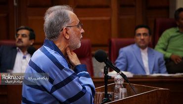 تصاویر دیده نشده از دومین جلسه دادگاه نجفی