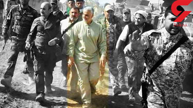 شجاعانه ترین عملیات سردار سلیمانی در محاصره داعش چه بود!  + جزییات