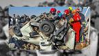 مرگ دلخراش زوج جوان در سانحه رانندگی در مشهد +عکس عجیب از تصادف