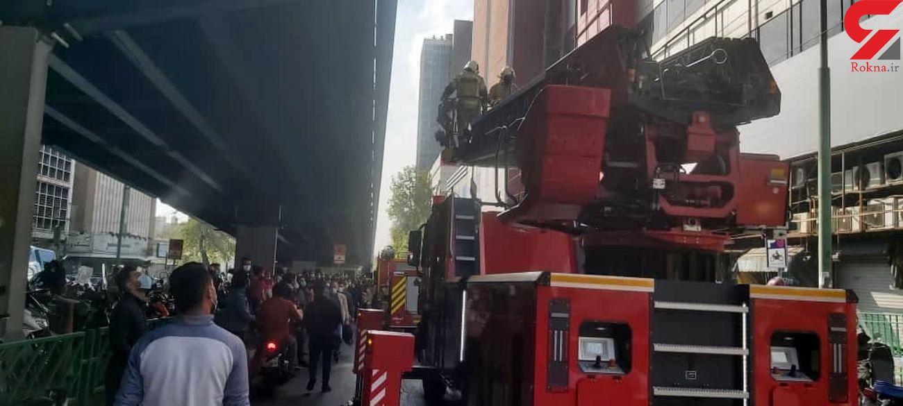 پاساژ علاءالدین در برابر حوادث ایمن است؟/سخنگوی سازمان آتش نشانی تشریح می کند