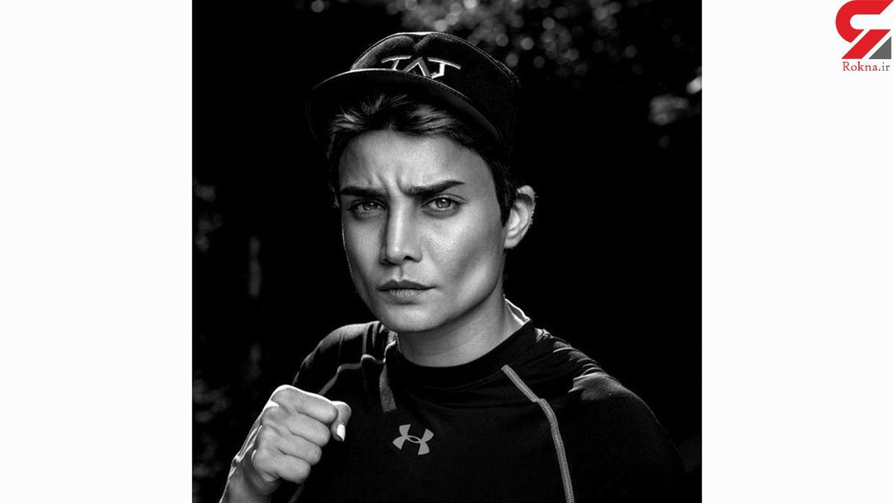 تینا آخوند تبار بوکسور حرفهای / مبارزه بزرگ دختر ایرانی در روسیه
