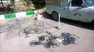 برق پلیس، دزدان کابل را خشک کرد!