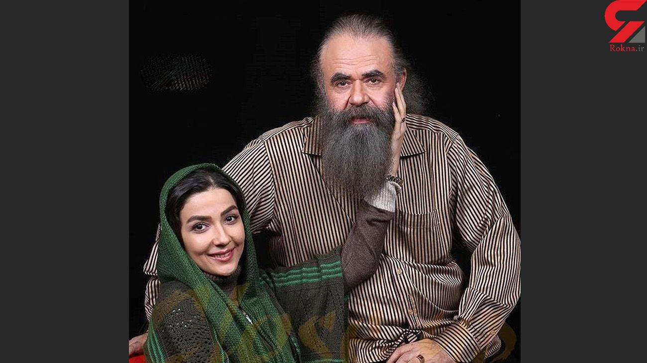 عاشقانه سارا صوفیانی برای شوهری با 28 سال اختلاف سنی + عکس ها