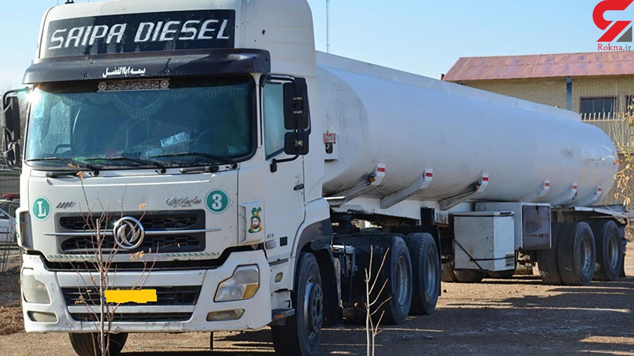 30هزار لیتر گازوئیل قاچاق به مقصد نرسید / توقیف در مبارکه اصفهان