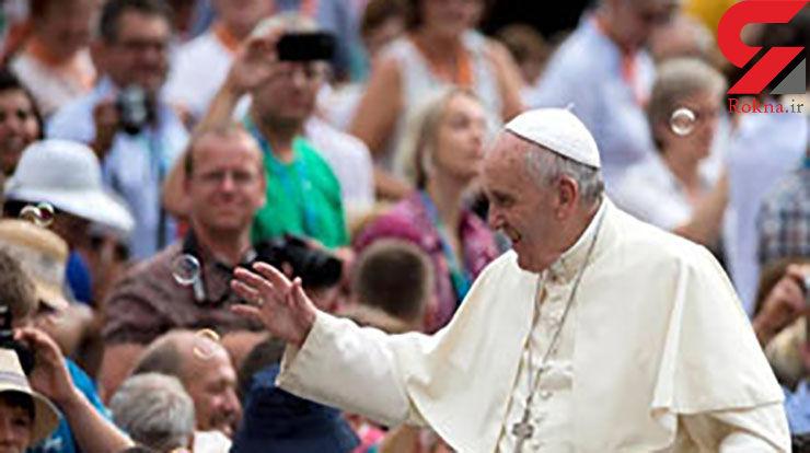 کمک ۱۰۰ هزار یورویی پاپ به سیلزدگان ایران