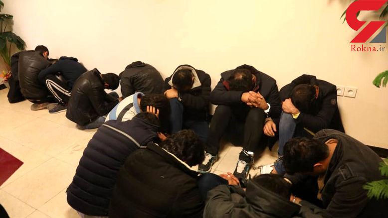 2 دختر و 13 مرد در ویلای صفادشت رفتار پلیدی داشتند !+تصاویر