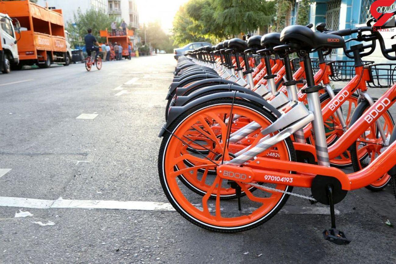 دوچرخه های عمومی از عوامل انتقال کرونا / حتما دستکش بپوشید