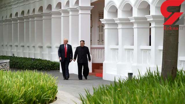 لحظه به لحظه با دیدار تاریخی رهبران آمریکا و کرهشمالی +تصاویر