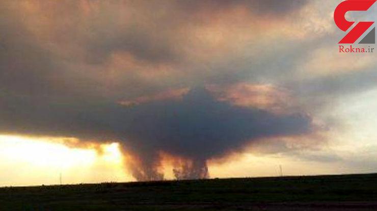 آتش در بخش ایرانی هورالعظیم خاموش شد