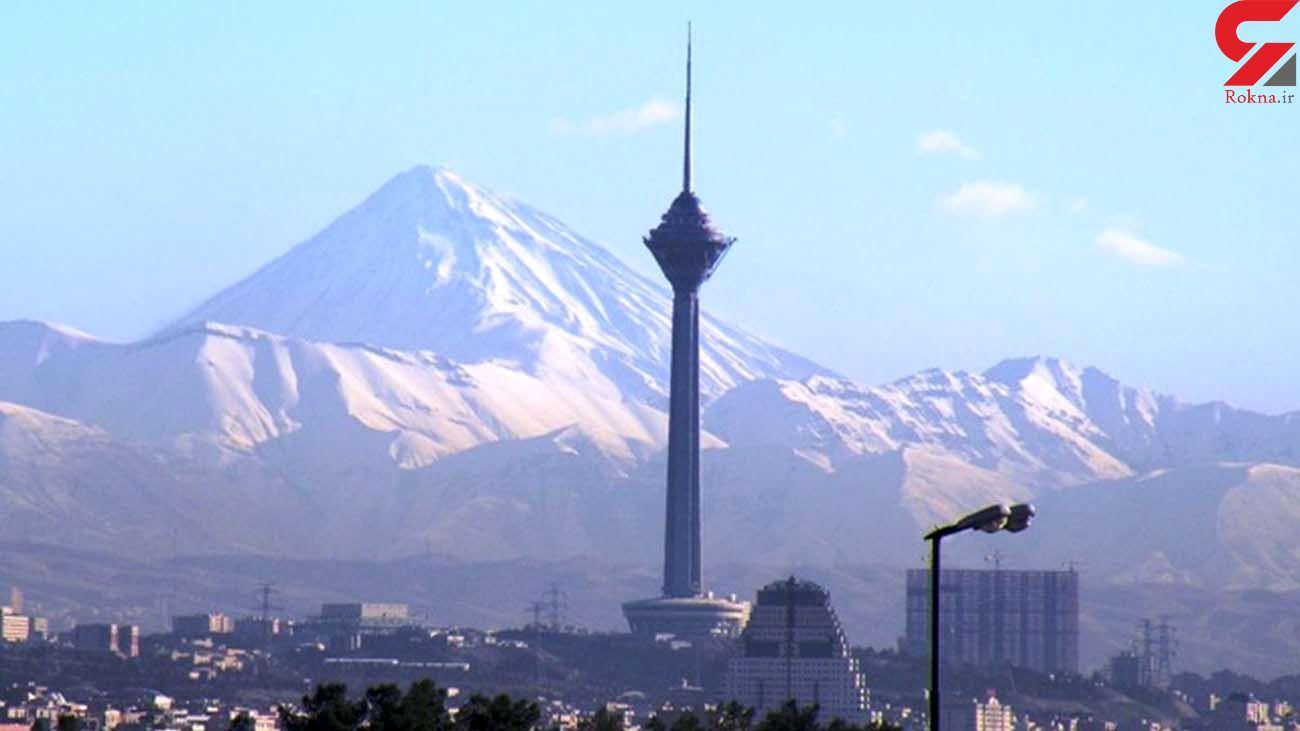وضعیت هوای تهران در سومین روز بهار 1400