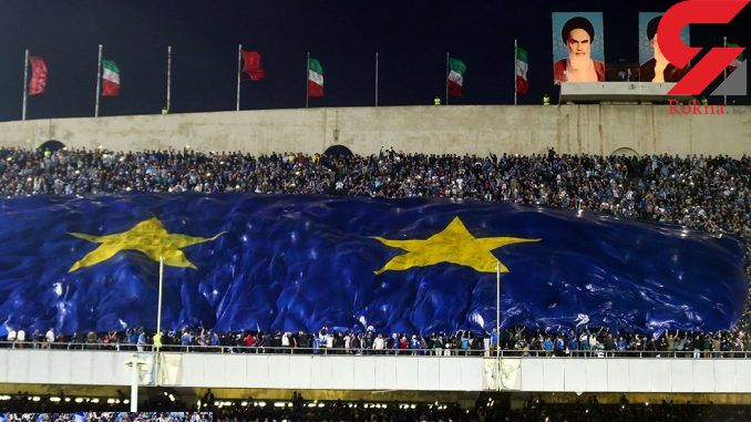 شعار هواداران استقلال علیه قلعهنویی