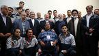 دیدار رئیسجمهور ایران با مرد 2 متر و 46 سانتی +تصاویر