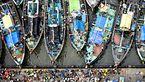بازار ماهی فروشان در بمبئی