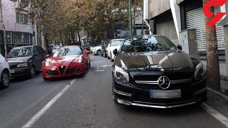 تصویری باورنکردنی از یکی از خیابانهای پایتخت