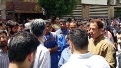 شورش  آبادانی ها بخاطر شوری آب آشامیدنی + فیلم و عکس