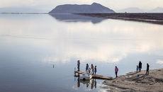 دریاچه ارومیه پرآب شد+ عکس