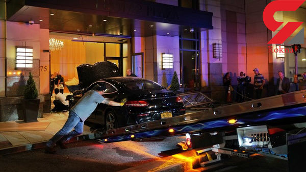 حادثه خونین مرسدس بنز در برج ترامپ + عکس