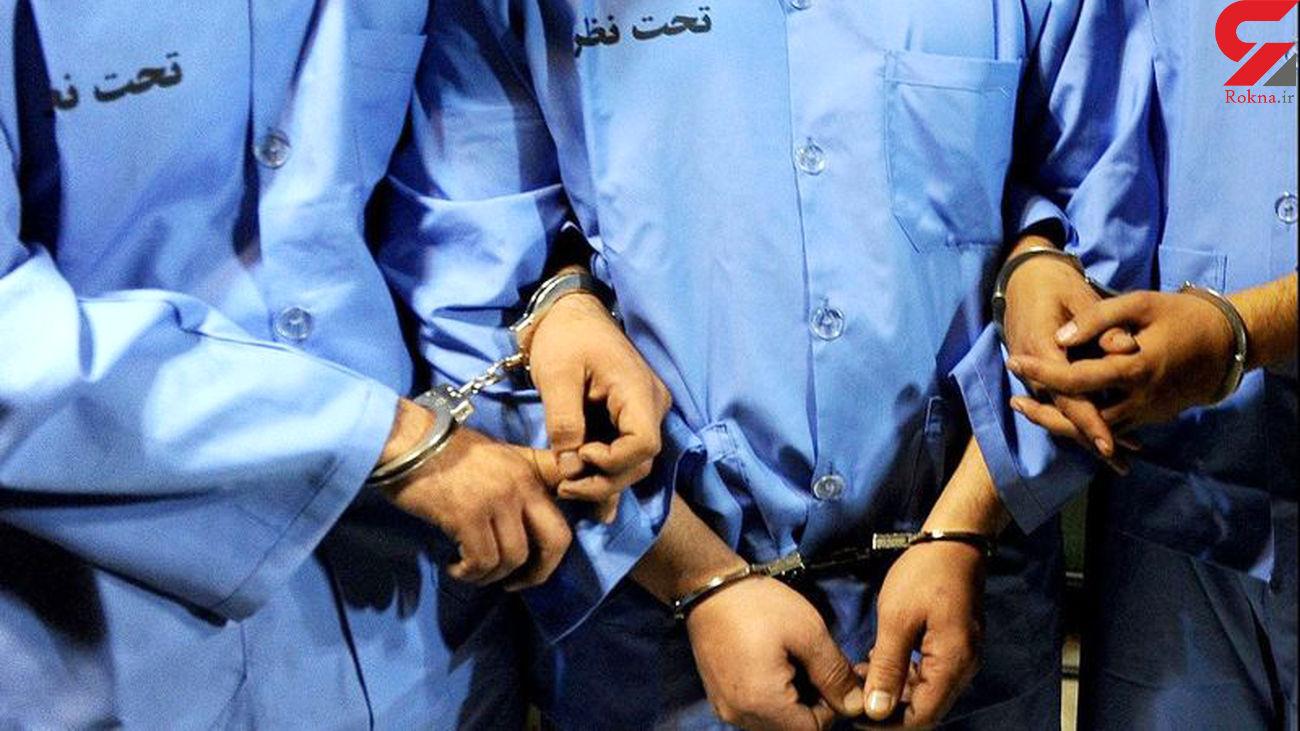 فیلم گفتگو با دزدان جنایتکار طلافروشی  تبریز / دزد زن مرد بود!