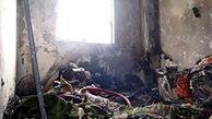 آتش سوزی ساختمان قدیمی بابل