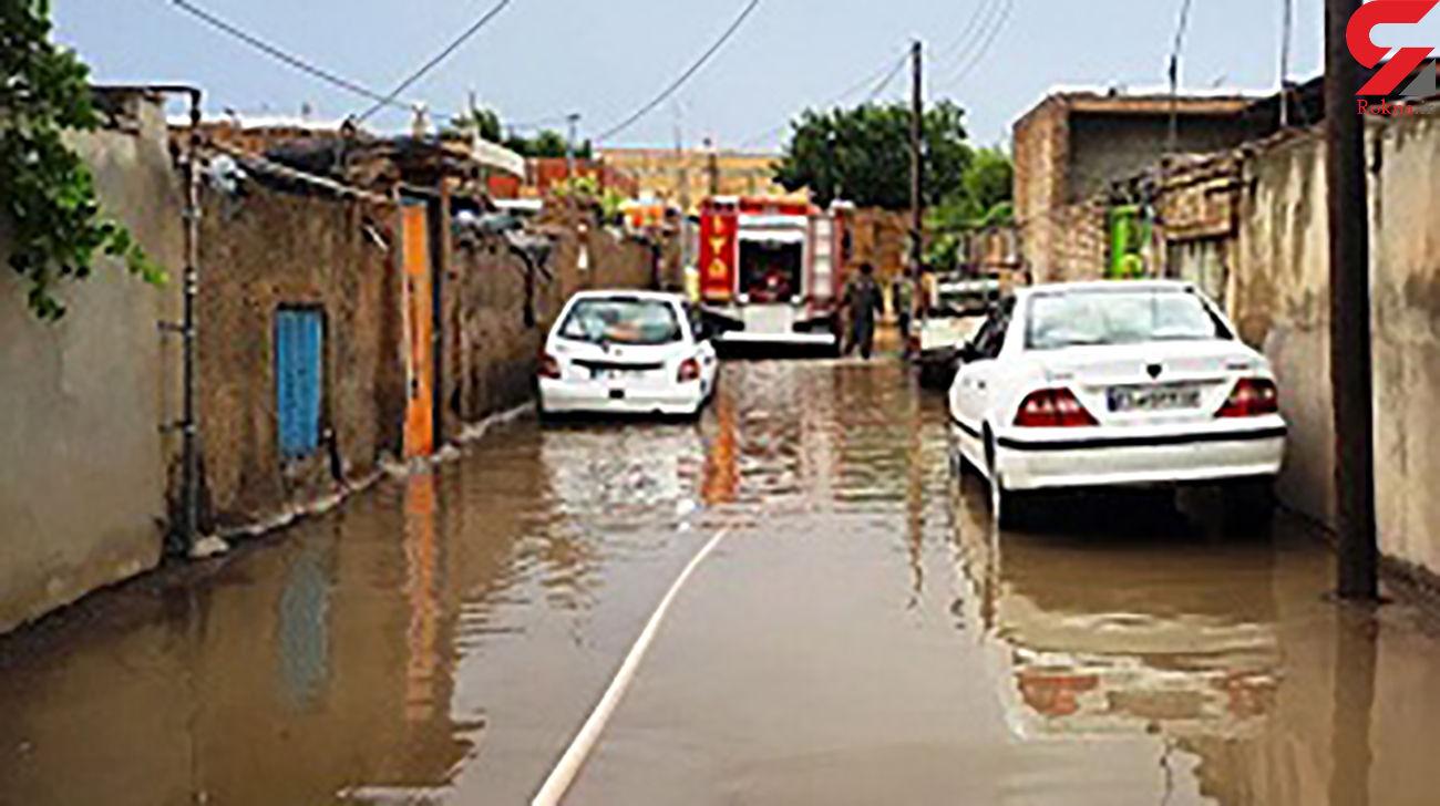 خسارت سیل به 50 واحد مسکونی در خلخال