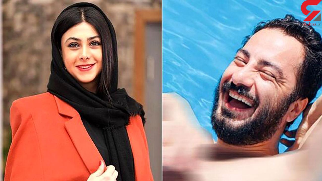 دیالوگ جنسی نوید محمد زاده با آزاده صمدی / عجب هیکلی ؟! + فیلم