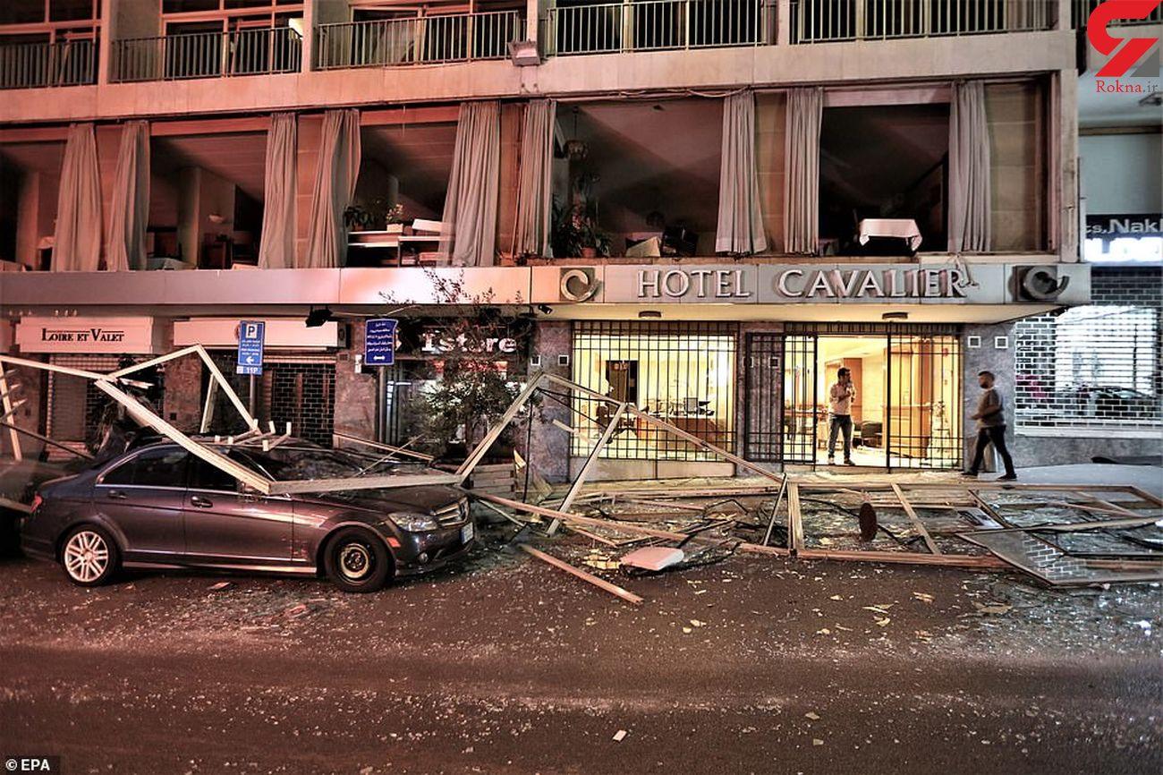 انفجار بیروت 48 پرسنل سازمان ملل را زخمی کرد