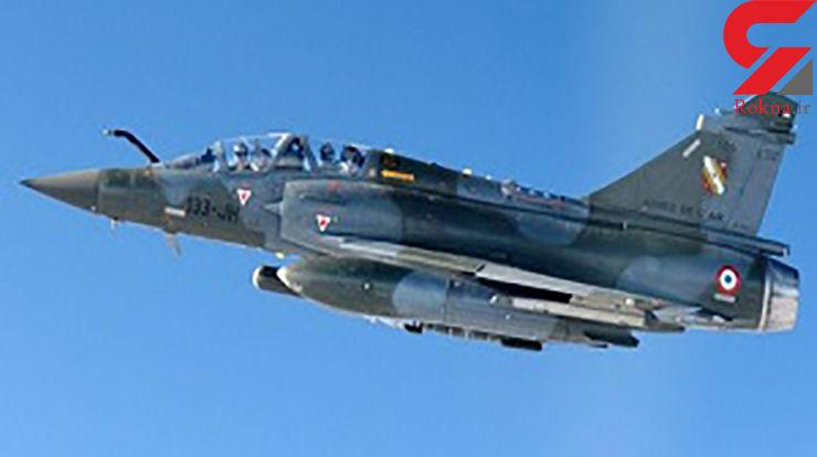 یک جنگنده در حال پرواز ناپدید شد