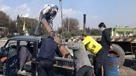 توپ دوران صفوی رو به عنوان ضایعاتی فرستاده بودن ذوب آهن اصفهان!