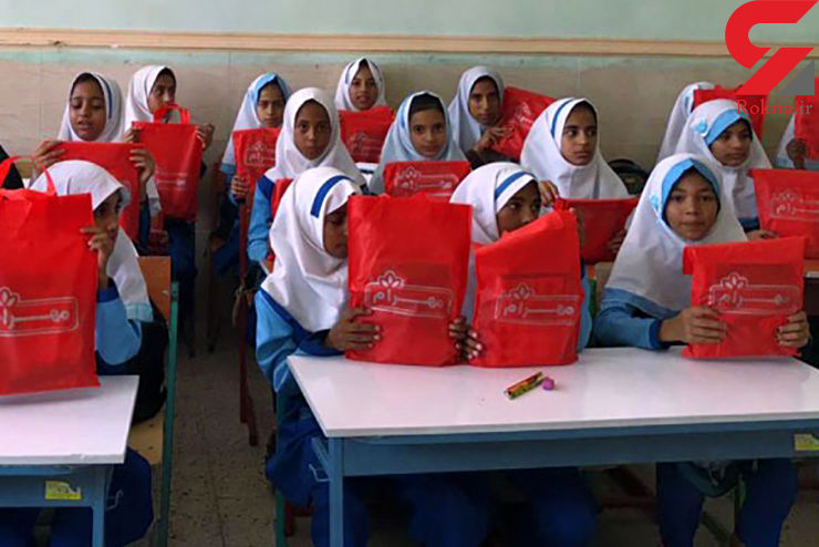 هدایایی به رسم دوستی توسط شرکت مهرام به دانش آموزان روستای محروم دلگان واقع در سیستان و بلوچستان+فیلم