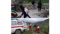 نجات جان خانواده ۹ نفره عشایری با تلاش 3 ساعته امدادگران