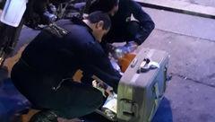 خبر ویژه / اعزام تیم چک و خنثی در پی وجود چمدان مشکوک در میدان شهید طهرانی مقدم + عکس