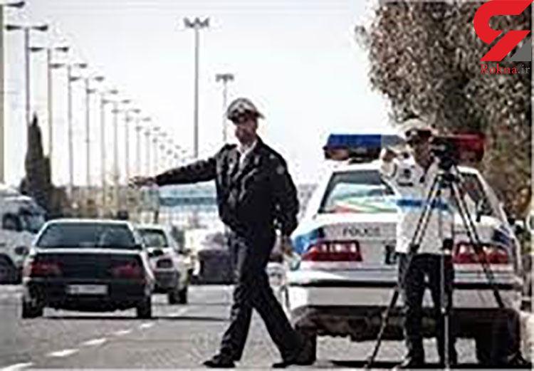 جرایم رانندگی بیشتر از یک میلیون قسطی شد / پلیس اعلام کرد