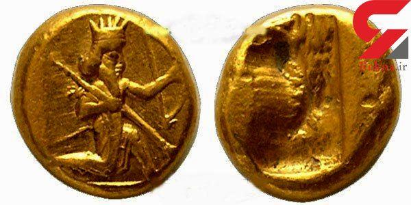 کشف یک سکه متعلق به دوران اشکانی