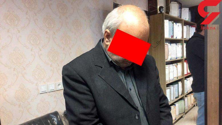 نقشه پلید مردی که با کلاه گیس و اسلحه وارد خانه زن تنها در سعادت آباد شد + عکس و فیلم