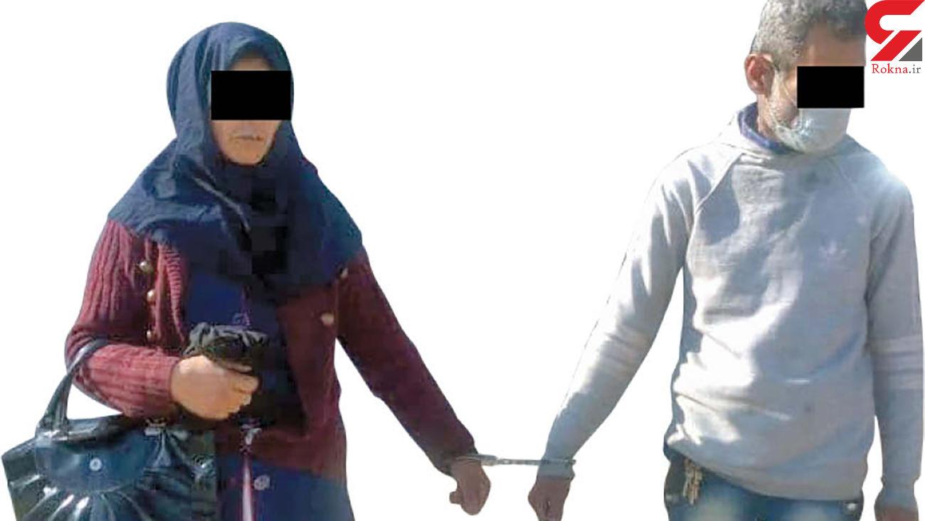 سرقت های هولناک زن و مرد مشهدی + عکس