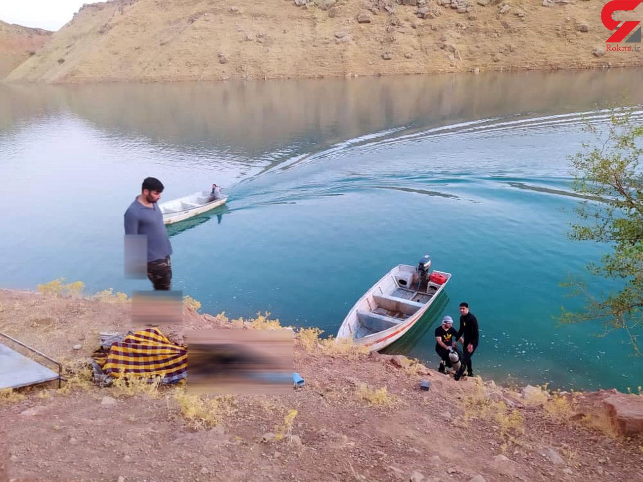 خودکشی عاشقانه دختر و پسر شوشتری در سد گتوند / با ماشین زیر آب رفتند + عکس ها