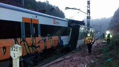 مصدومیت چند تن در سانحه ریلی شمال اسپانیا